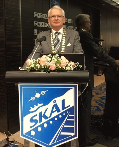Andrew J Wood was elected Skål Bangkok president during the club's AGM on the 28th March 2018.