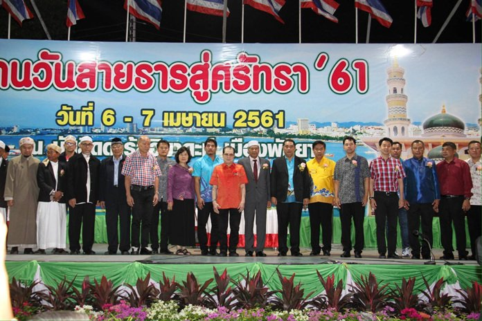 Darul Ibadah Mosque raised nearly a million baht at its Holy Friday of Faith fair.