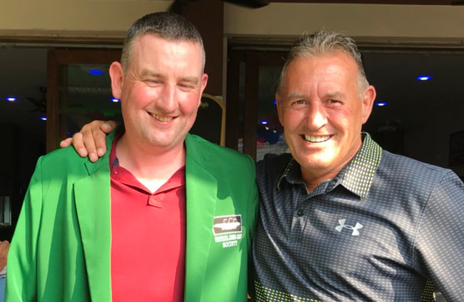 Bryan Dore (left) and Phil Davies.