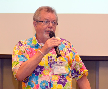 Member Bob Smith takes on his introductory role as the PCEC's Open Forum Coordinator as he invites members and guests to ask questions or make comments about Expat living in Thailand.