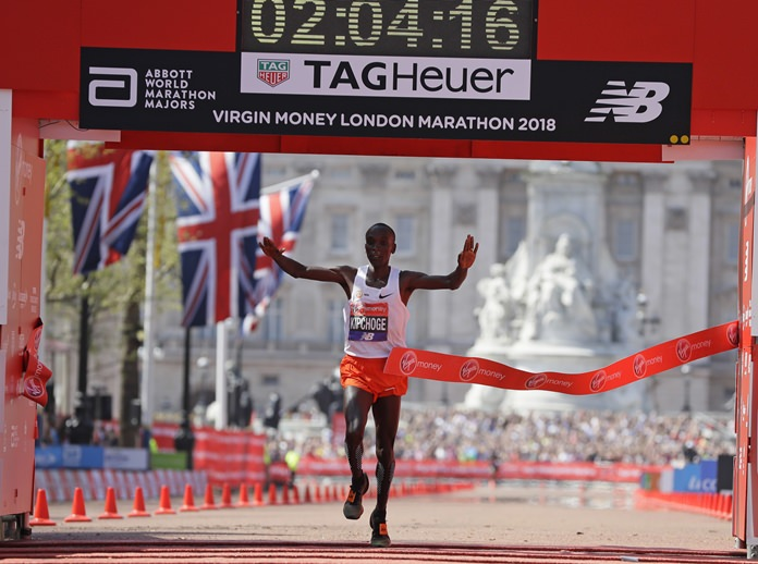Kipchoge, Cheruiyot celebrate Kenyan double at London Marathon