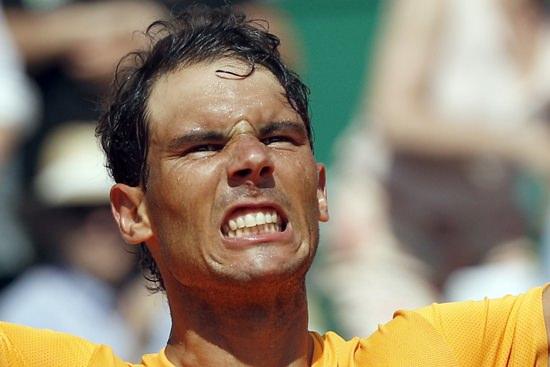 Rafael Nadal. (AP Photo/Christophe Ena)