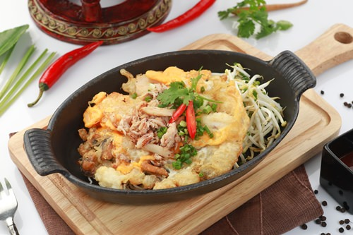 Thai street food on the menu at Oasis in April.