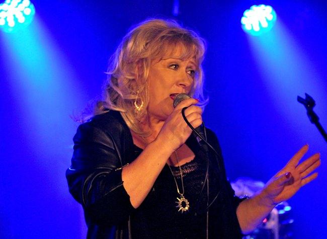 Jill Saward of British band Shakatak.