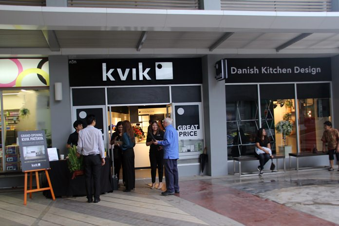 Kvik Kitchen Design at Baan & Beyond is now open for business.