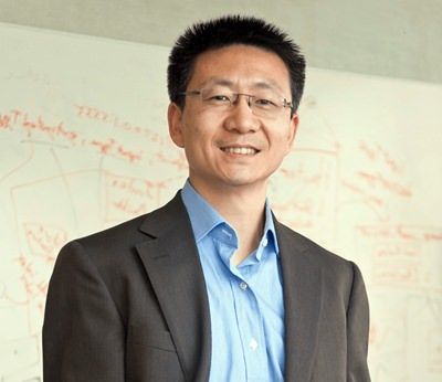 Dr. Hui Cheng, the head of robotics research at JD.'s Silicon Valley Research Center. (Michael Toth via AP)
