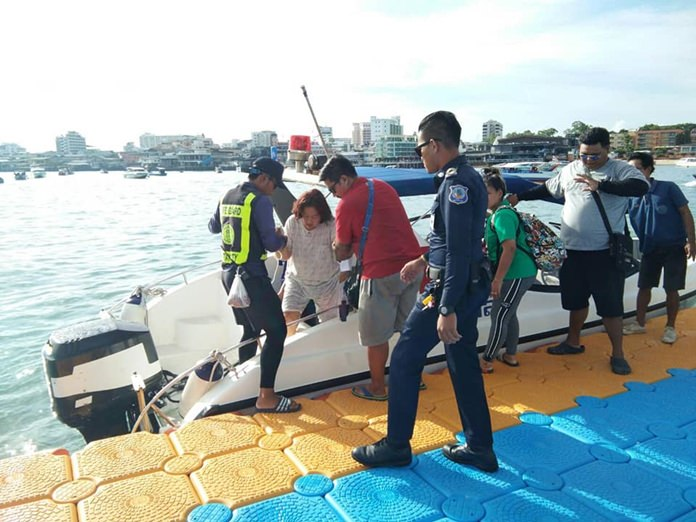 Authorities sent several teams to Bali Hai Pier to assist tourists throughout the busy day.