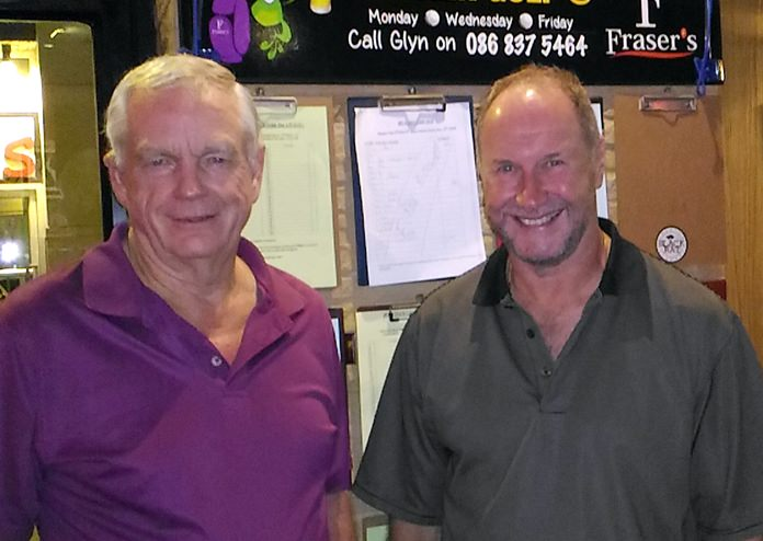 Don Head (left) and Tim Hake.