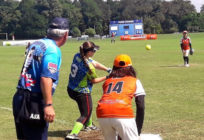 Enjoy some great international softball action this weekend at Siam Polo Park.