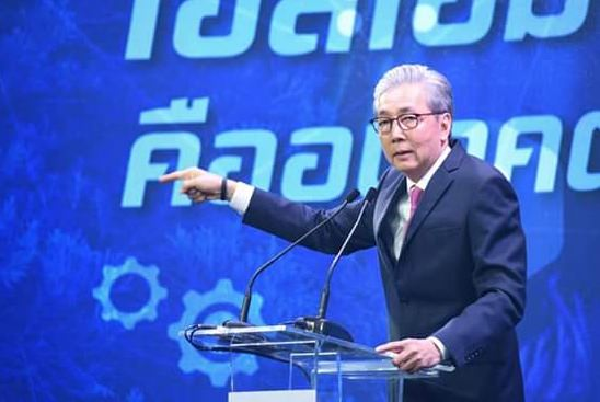 Deputy Prime Minister Somkid Jatusripitak says the 4.8% GDP growth in the first three months of 2018 reflects an overall economic improvement.