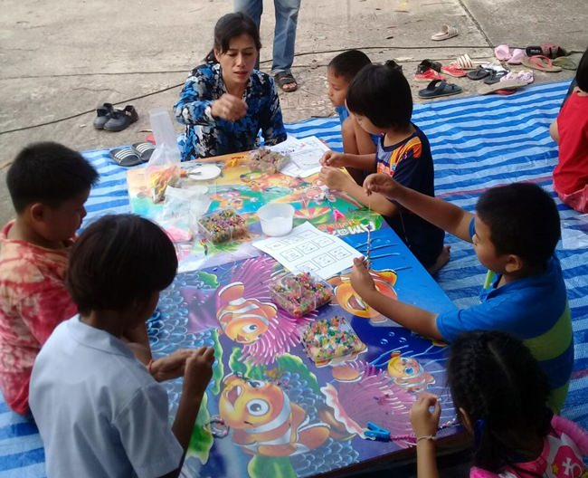 Community leaders organized worthwhile activities for children in the neighborhood.