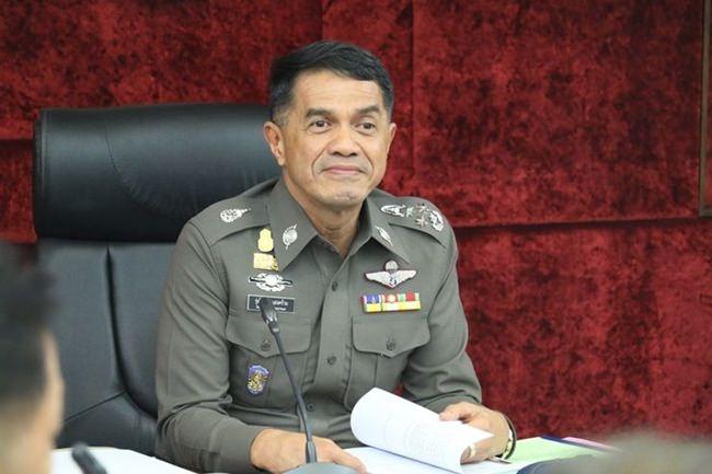 Deputy National Police Chief Pol Gen Rungroj Saengkhram.