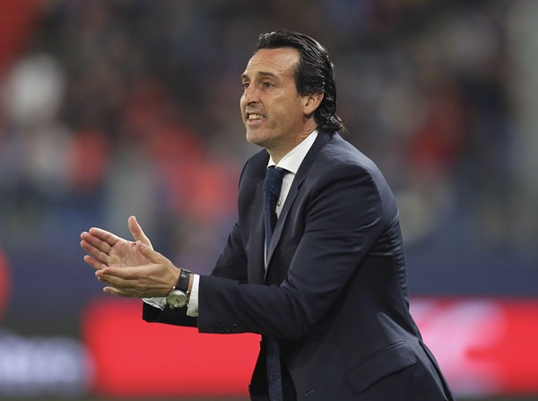 Arsenal's new head coach Unai Emery. (AP Photo/David Vincent)