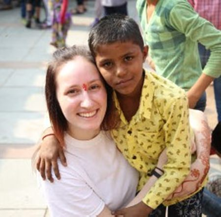 Jodie describes how she found visiting India and working with local folks a very satisfying experience.