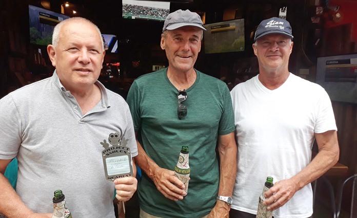 Phil O'Halloran, Bob Wade and Jeff Evans.