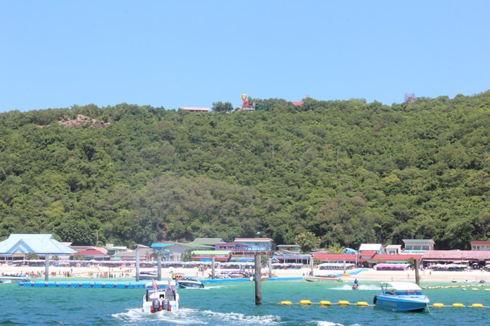 Consultants have completed their long-awaited survey of Koh Larn's tourist capacity, the first step toward new zoning laws to protect the island's ecosystem.