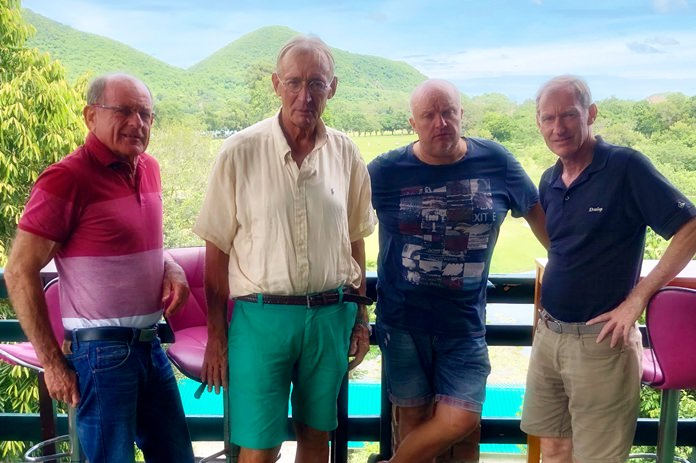 (From left) Patrick Devereux, Willem Lasonder, Dave Smith and Jonathan Pratt.