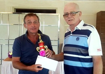 Thierry Temime (left) was the C Flight winner.