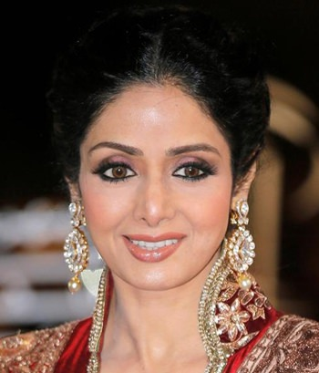 The late actress Sridevi was honored at the Indian Film Academy Awards in Bangkok, Sunday, June 24. (AP Photo)