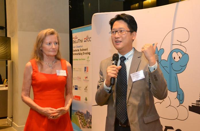Deborah Bundityanond from Rabbit Resort Pattaya and Dr Sitt Tienthitti Absolute Health.