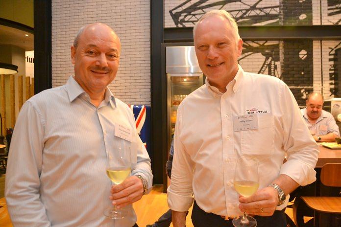 Marc Dehertogh and Philip Coates.