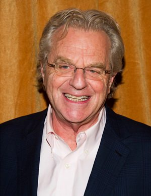 TV talk show host Jerry Springer is shown in this Jan. 16, 2014 file photo. (Photo by Charles Sykes/Invision/AP)