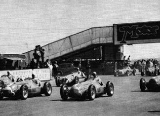 Silverstone Grand Prix circa 1950.