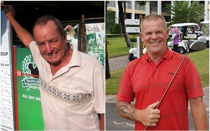 Neil Wilkinson (left) & Freddy Starbeck.
