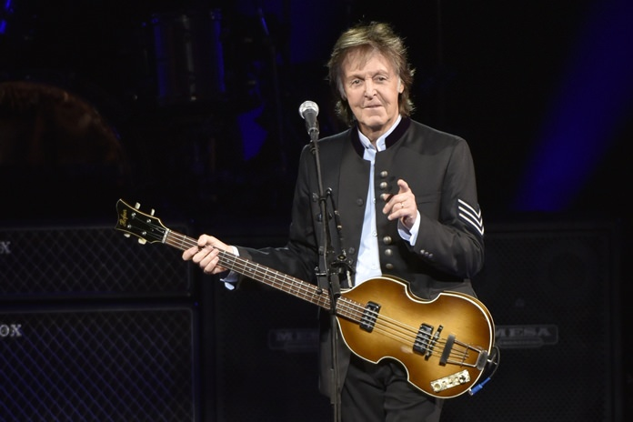 Paul McCartney is shown performing in this July 26, 2017 file photo. (Photo by Rob Grabowski/Invision/AP)