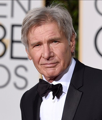Actor Harrison Ford is shown in this Jan. 10, 2016 file photo. (Photo by Jordan Strauss/Invision/AP)
