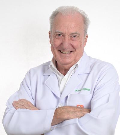 Old hand Dr. Iain Corness.