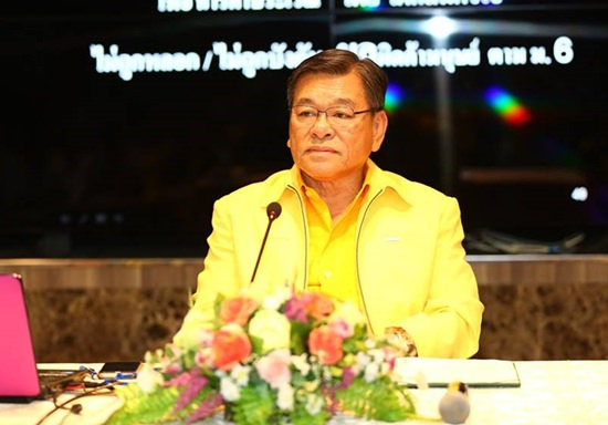 Deputy Mayor Vichien Pongpanit opened a training session for social workers, community leaders and students on how to spot and report human traffickers.