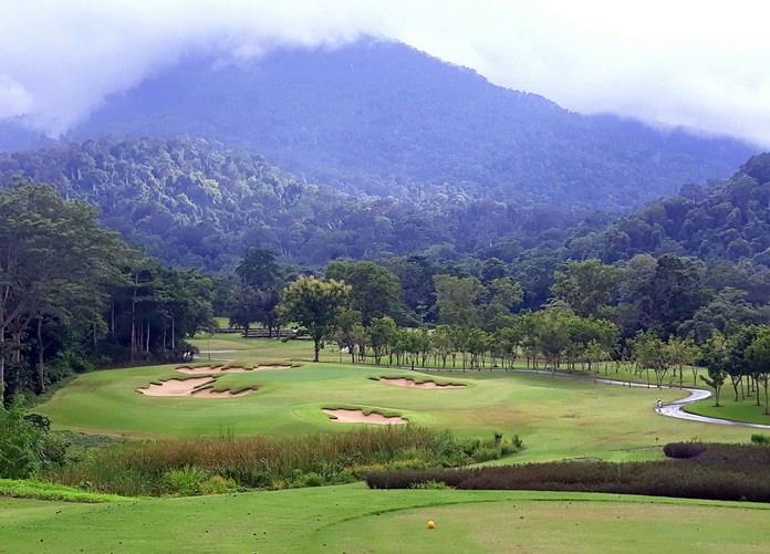 Chatrium Soi Dao Golf Resort in Chantaburi.