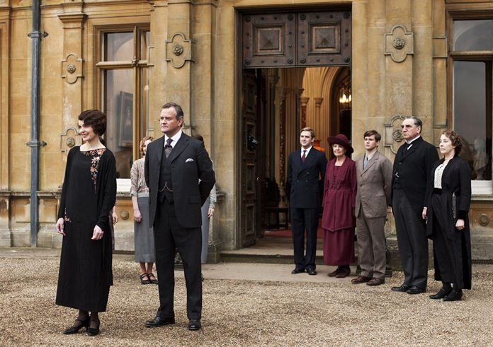 """This undated publicity photo shows characters from the TV series, """"Downton Abbey."""" (AP Photo/PBS, Carnival Film & Television Limited 2012 for MASTERPIECE, Nick Briggs)"""
