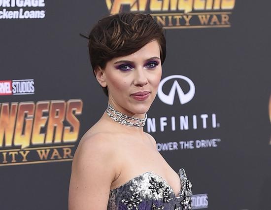 Scarlett Johansson. (Photo by Jordan Strauss/Invision/AP)