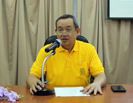 Huay Yai Mayor Pairat Thraisupachok invites Huay Yai residents to wish HM the King a happy birthday Saturday at the sub-district office.