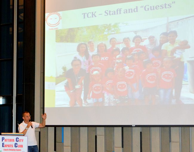 A picture of children and staff at the Take Care Kids Foundation's foster shelter.