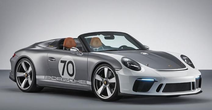 Porsche Speedster Concept.