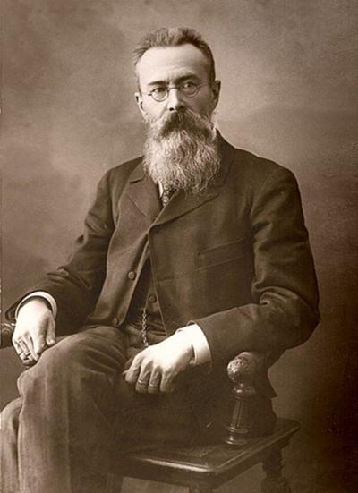 Composer and teacher, Nikolai Rimsky-Korsakov.