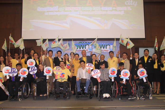 """Tourist attractions and hotels were urged to make their facilities more accessible to the disabled as a way to turn Pattaya into a good example of what is possible in the attempt to create """"tourism for all""""."""