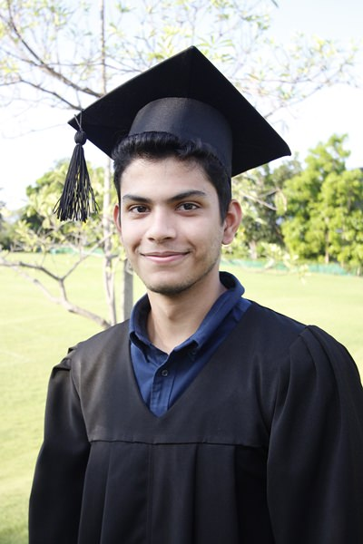 Shomit was awarded 40 points and has now started studying at Nanyang Technological College in Singapore.