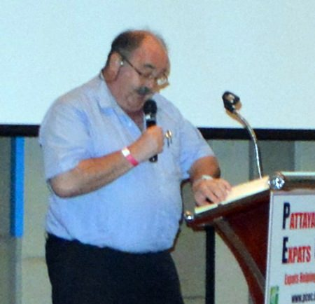 "Long time Pattaya Insurance Broker Jack Levy advises the PCEC about insurance in Thailand along with some do's and don'ts. With a little ""tongue in cheek"", he referred to his talk as the ""Idiots Guide to Insurance in Thailand."""