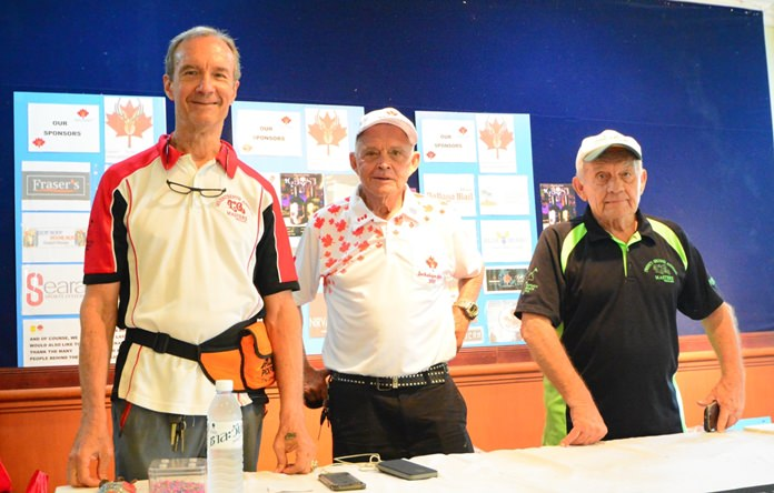 Tournament help was gratefully received from Woody Underwood, Bill Freeman and Bernie Tuppin.