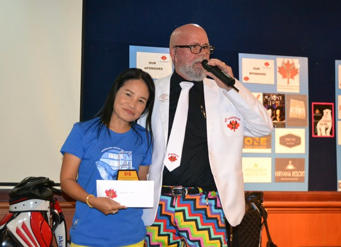 Runner up in the Ladies Division was Janthorn Kuanha with 30 points.
