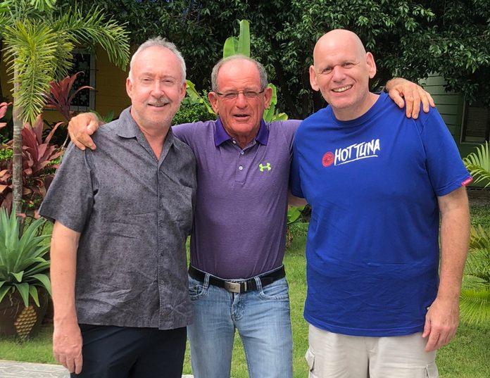 Stuart Banks, Paddy Devereux and Tony Wakeling.