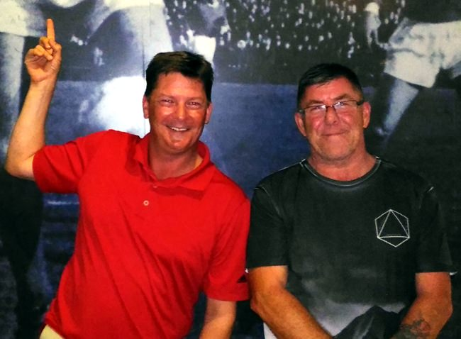 Steve Godfrey and Kenny Cleckner.