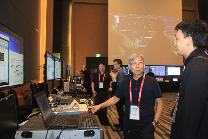 Honeywell Processor Solutions showed off its latest innovations to automate factories and reduce down time at a showcase in Pattaya.
