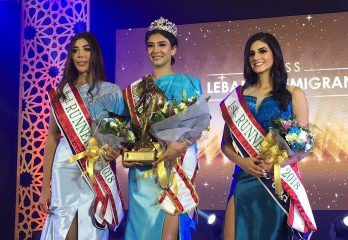 Australian Rachel Younan was crowned Miss Lebanon Emigrant 2018 at the pageant's first competition in Asia.