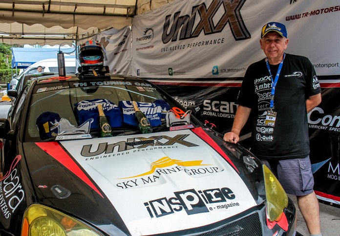 Tony Percy consolidated his lead in the Super 2000 / Thailand Touring Car class championship after a fine performance in Bang Saen.