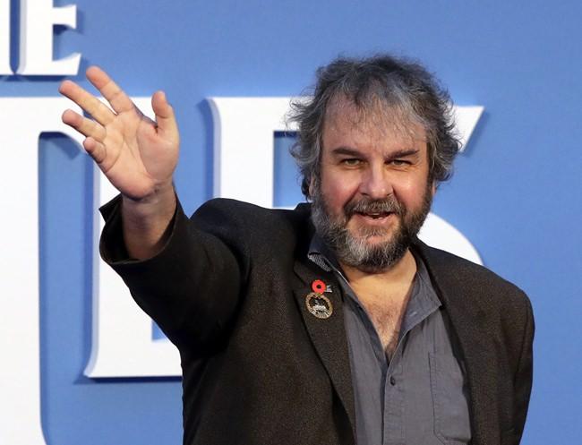 Film director Peter Jackson.